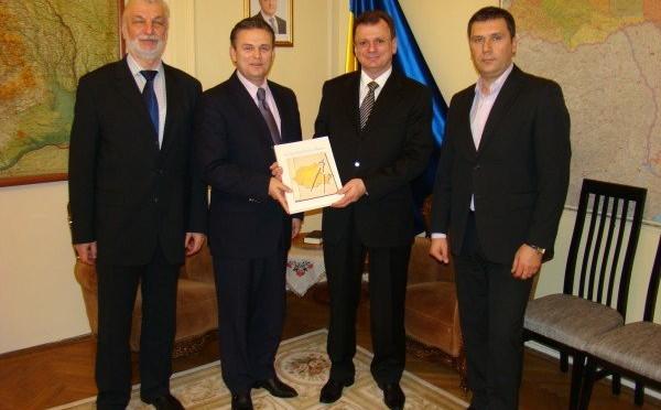Delegaţia UNPR la ambasadele Ucrainei, Germaniei si Ungariei