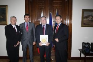 UNPR, Ioan Lucian,  la intalnirea cu oamenii de afaceri din Harghita