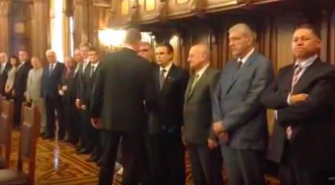 Klaus Iohannis s-a intalnit la Cotroceni cu reprezentanţii mediului de afaceri