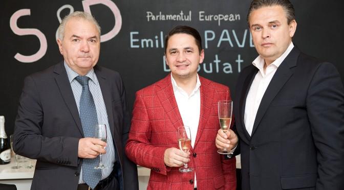 UE prin europarlamentarul Emilian Pavel se alatura UNPR in realizarea oportunitatilor de afaceri