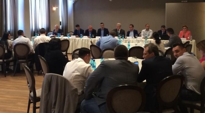 Candidații la Primăria PLOIESTI, față în față cu patronatele în cadrul mesei rotunde organizate de Uniunea Națională a Patronatului Român