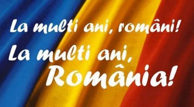 UNPR ESTE CU TINE! LA MULTI ANI ROMANIA!