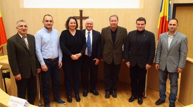 Principalele partide din Sibiu au raspuns prin candidatii lor la Parlament, in cadrul intilnirii cu UNPR