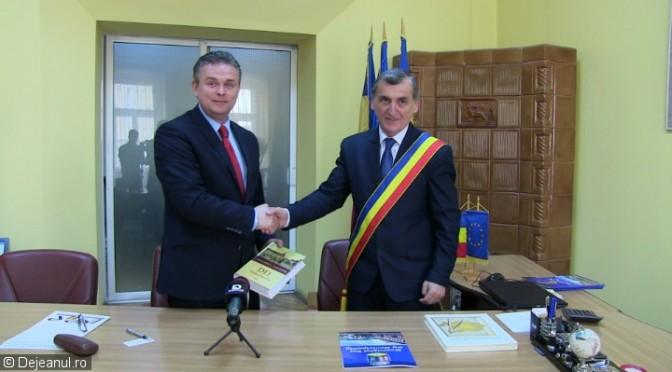 Parteneriat activ intre Primaria Dej si Uniunea Nationala a Patronatului Roman