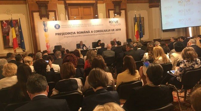 Preluarea de către România, în primul semestru din 2019, a Președenției UNIUNII EUROPENE