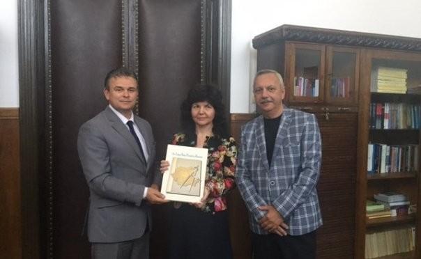 Președintele Uniunii Naționale a Patronatului Român, în vizită la UAIC