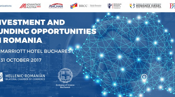 "Invitatie la conferinta ""Investment and Funding Opportunities in Romania"""