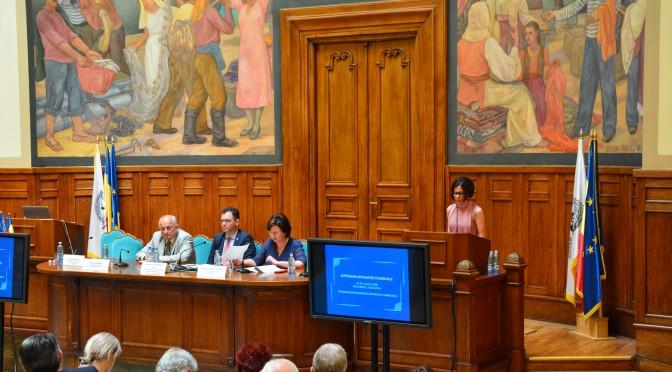 Laura Ciuhu, vicepresedinte al uniunii nationale a patronatului roman, invitata la deschiderea plenara a saptamanii diplomatiei comerciale