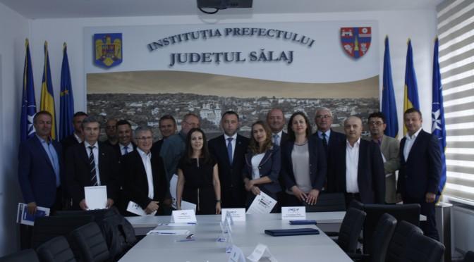 Sălajul – în fruntea județelor cu cea mai importantă prezență pe lista semnatarilor Acordului de parteneriat