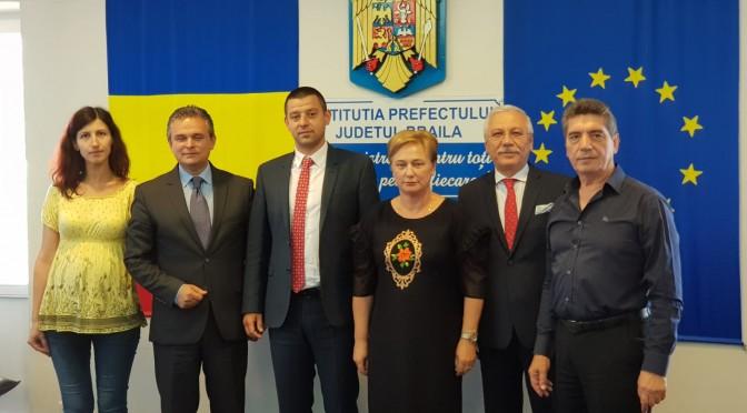 SI JUDETUL BRAILA ADERA LA PROIECTUL  DE COAGULARE A MISCARII PATRONALE DIN ROMANIA