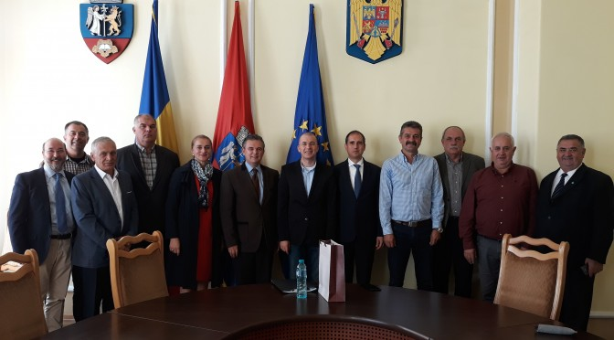 Vizita reprezentanților Asociației Întreprinzătorilor Maramureș (membră a Uniunii Nationale a Patronatului Roman) in judetul Bihor