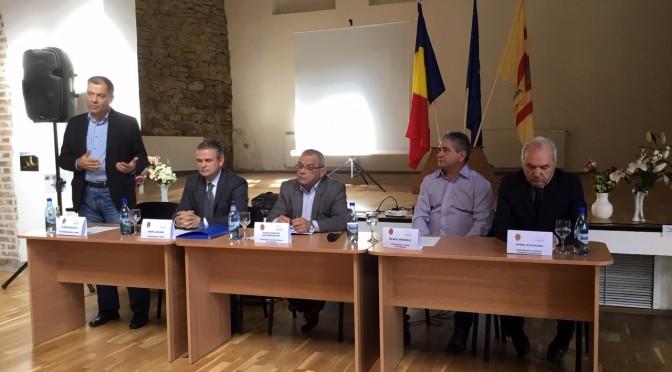 OAMENII DE AFACERI DIN SIGHIȘOARA, RECEPTIVI LA PROPUNERILE UNIUNII NAȚIONALE A PATRONATULUI ROMÂN