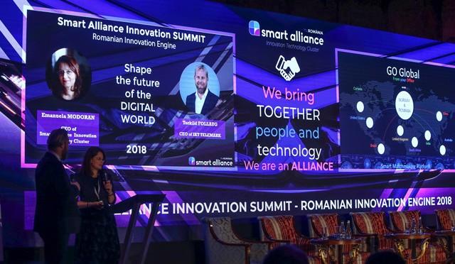 Peste 500 de oameni de business au participat la ediția a treia a Smart Alliance Innovation, membru al UNPR