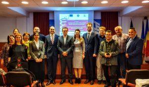"""Instantanee de la Conferința de lansare a proiectului"""" """"Uniunea Naționalǎ a Patronatului Român Sprijinǎ Competențele"""""""