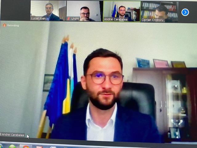 Dialogul dintre reprezentanții Uniunii Naționale a Patronatului Român și primarul ales al Municipiului Piatra Neamț