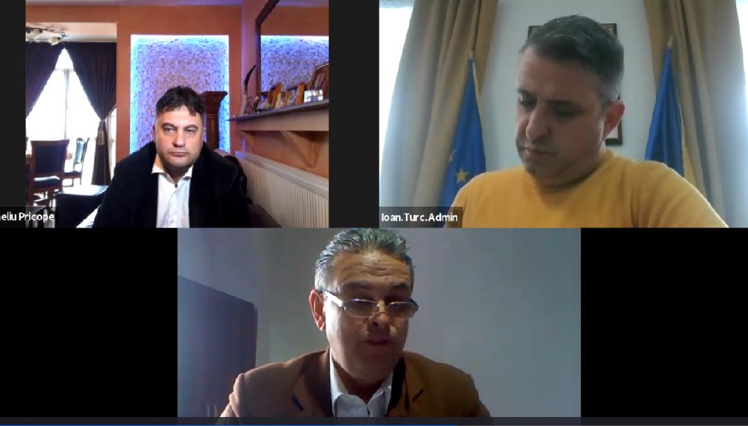 Dialogul cu Noii Primari ai Municipiilor Capitală de Județ, a Continuat  cu Primarul Municipiului Bistrița Năsăud-Domnul Ioan Turc și cu Primarul Muncipiului Timișoara- domnul Dominic Samuel Fritz