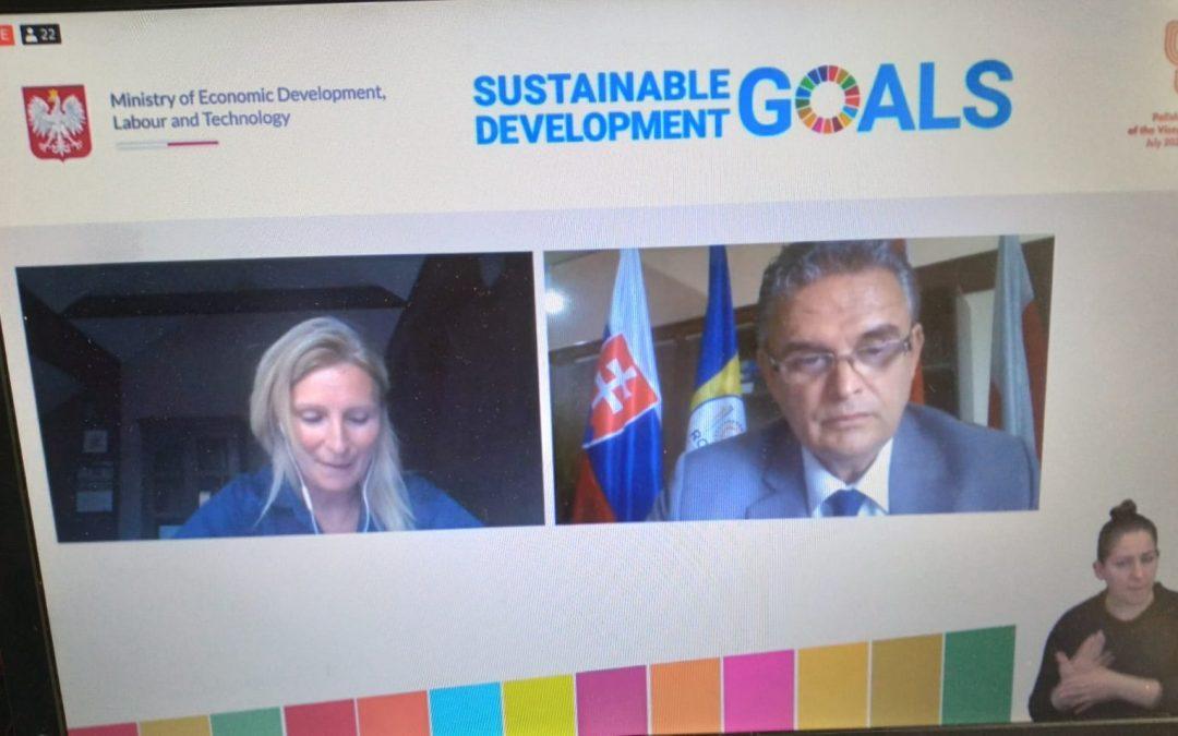 UNPR a reprezentat mediul de afaceri din România la Forumul Agendei 2030 V4+